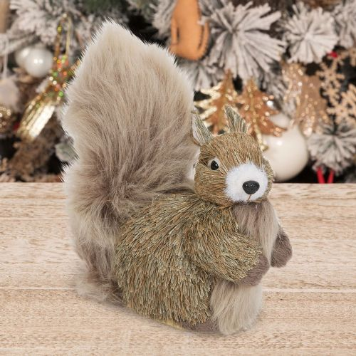 Woodland Squirrel Ornament Rustic Christmas Decoration